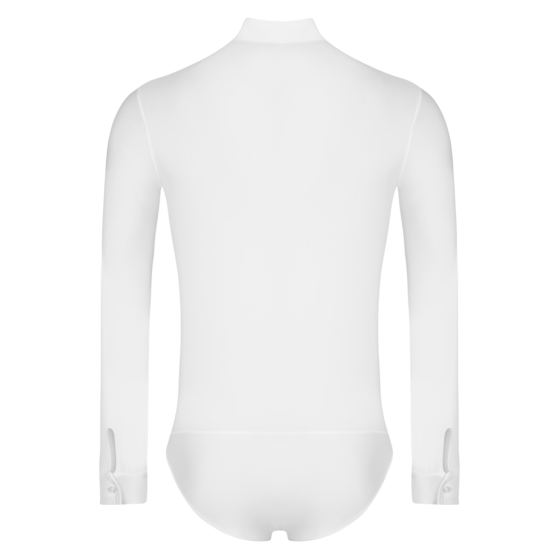 online retailer e215a aa2bd Rumpf CHICAGO Herren Ballroom Body-Hemd Weiß 5700