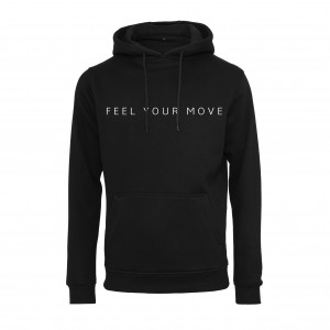 "Hoody ""Feel Your Move"" schwarz DT011B"