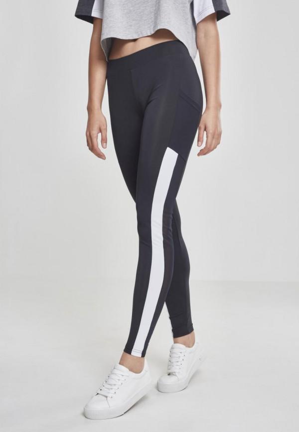 TB2364 Ladies Tech Mesh Striped Pocket Leggings