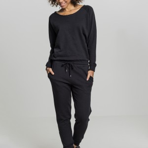 TB1841 Ladies Long Sleeve Terry Jumpsuit