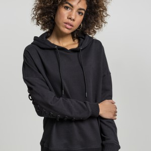 TB1839 Ladies Laced-Up Hoody